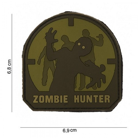 velcro pvc zombie hunter