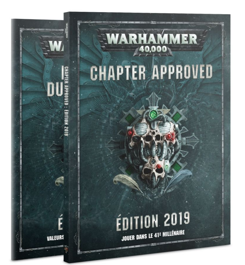 Chapter Approved édition 2019