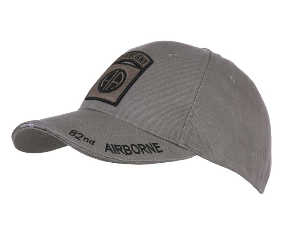 Casquette 82nd Airborne Subdued grise