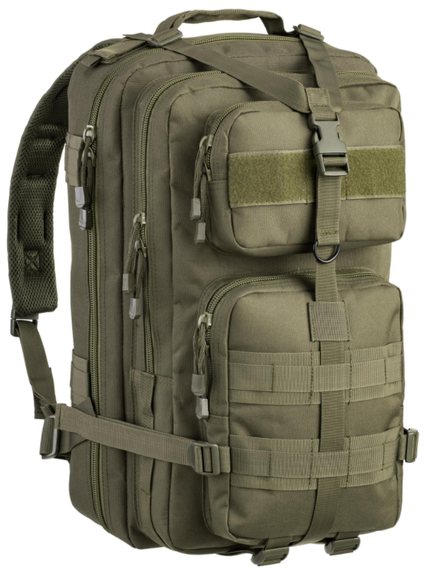 TACTICAL BACKPACK Defcon5 (40L) hydro compatible vert OD